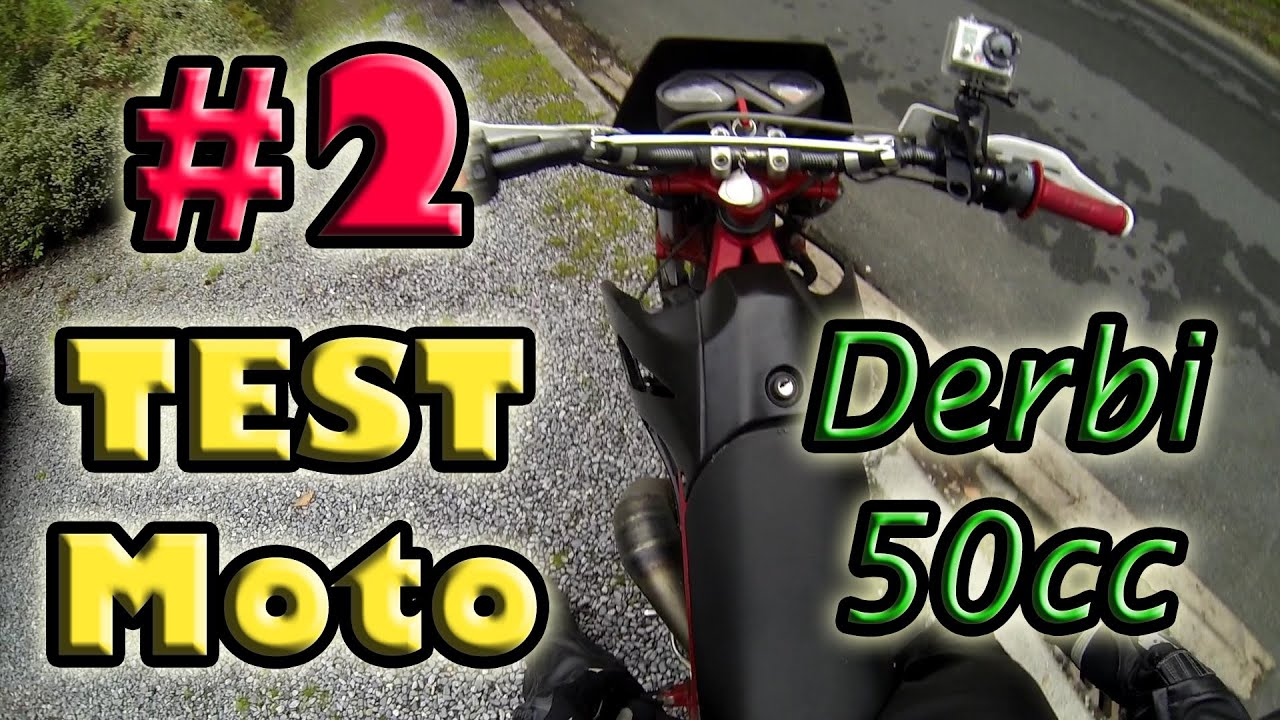 test moto 2 50cc derbi senda kit 80 youtube. Black Bedroom Furniture Sets. Home Design Ideas
