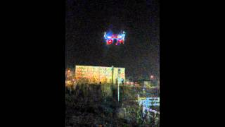 Quadcopter night flight pcbprotos