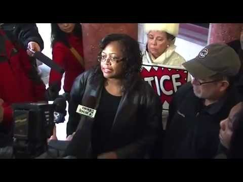 Aaron Campbell's mother reacts to civil rights review of Portland police.