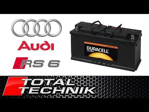 Location of Battery Audi RS6 - C5 - 2003-2005 - Total Technik