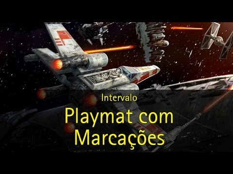 Intervalo: Playmat para x-wing