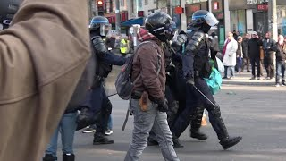 [Gilets Jaunes ACT 22] - Arrests, provocations and lots of Police!