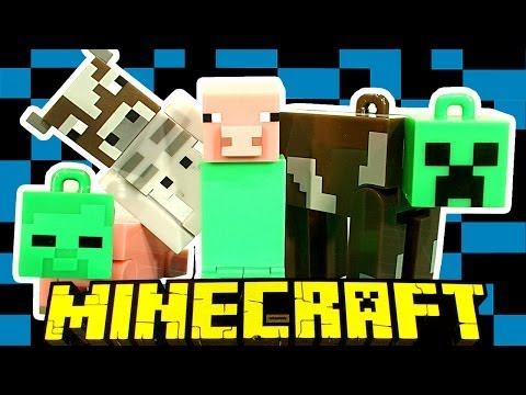 Minecraft Hangers Blind Bags Hack The Good The Bad & Ugly Minecraft Toys Happy Mining :)