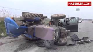 CHP Milletvekili Aday Adayı Kaza Yaptı  1 Ölü  2 Yaralı