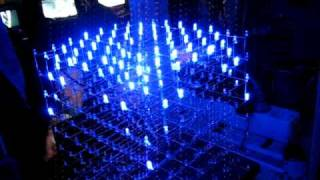 8x8x8 Led cube at TG10