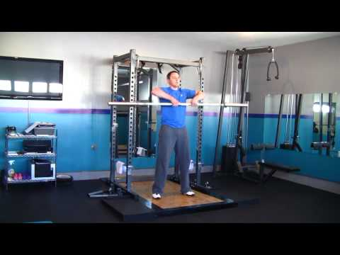 Barbell High Pull and Upright Row Tutorial.mpg Image 1