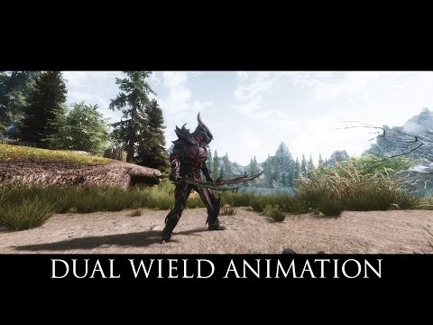 TES V - Skyrim Mods: Dual Wield Animation