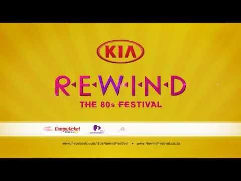 KIA 80's Rewind Festival South Africa 2015