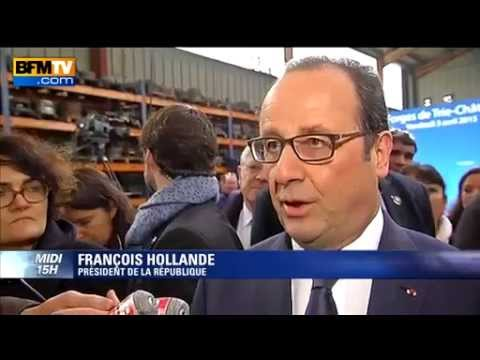 François Hollande veut inciter l'investissement via un encouragement fiscal