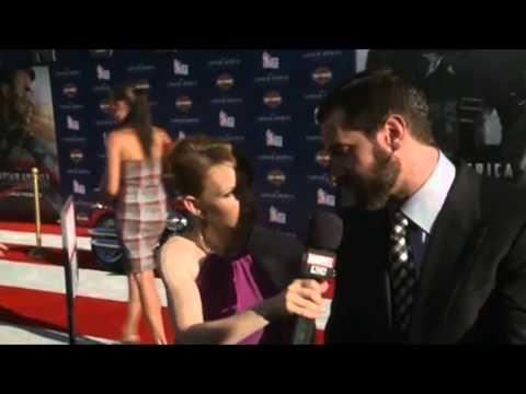 Richard Armitage Captain America Premiere