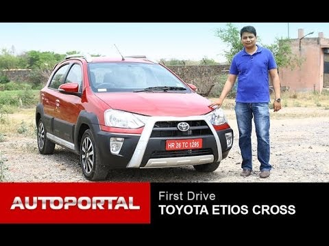 Toyota Etios Cross Review 'First Look' - AutoPortal