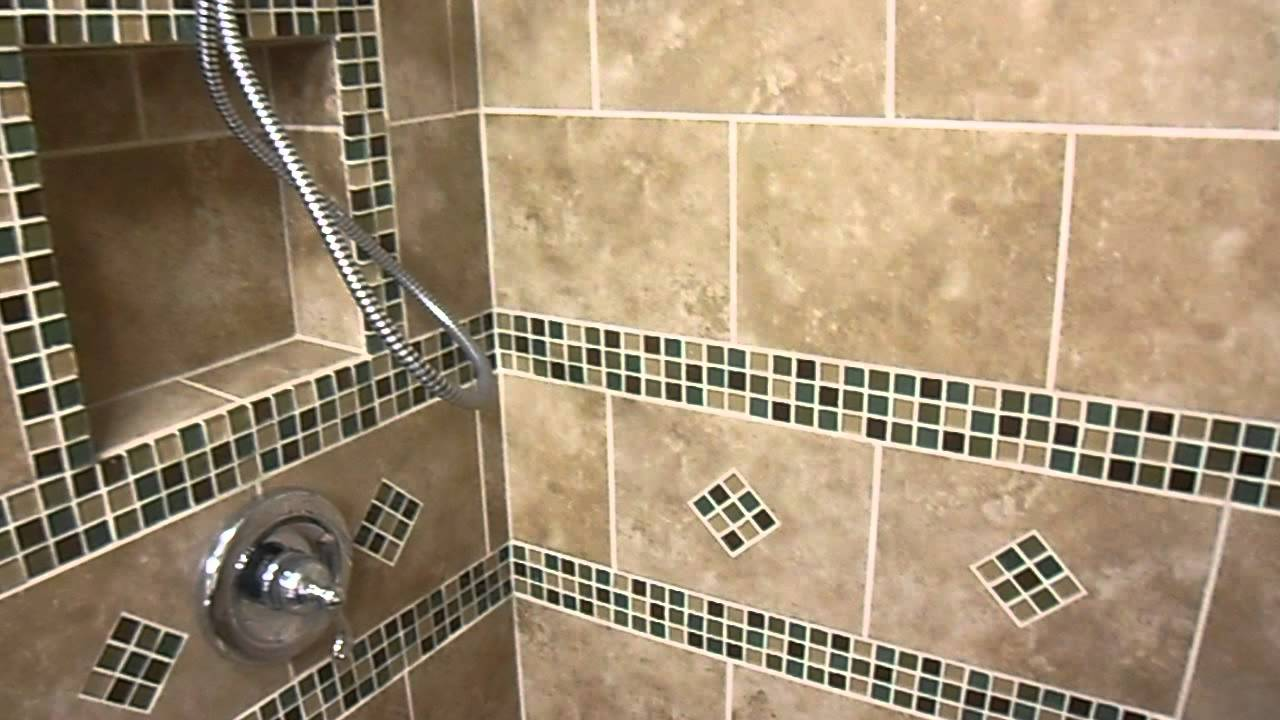 Remodeled Bathroom With Built-In Shower Bench - YouTube