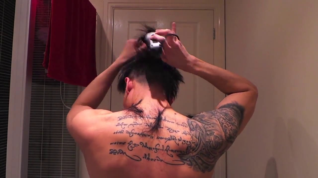 Clipper Cut Your Own Hair 2013 Style YouTube