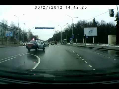 Опасный перекресток в Минске