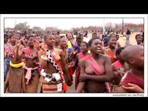 2012 Umhlanga Reed Dance Ceremony, Swaziland (2) video
