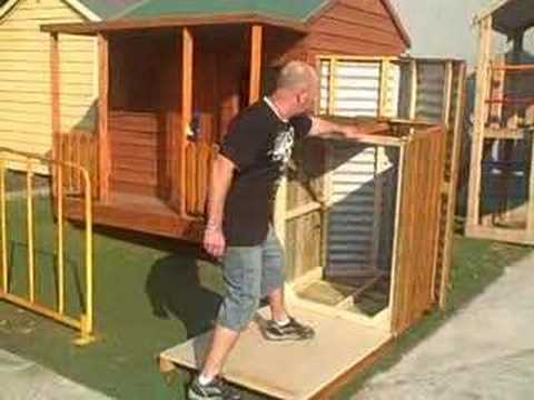 Tilta Dog Kennel By Design A Shed Cubbies Youtube