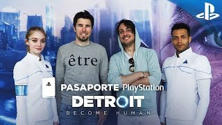 ¿Youtubers o Androides? WILLYREX & FARGAN en #PasaportePlayStation - Detroit: Become Human