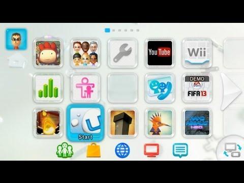 Vooks Reviews: Nintendo Wii U Hardware and Menu