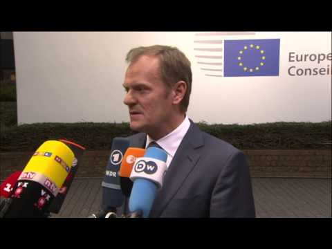President of the European Council: Arrival and doorstep
