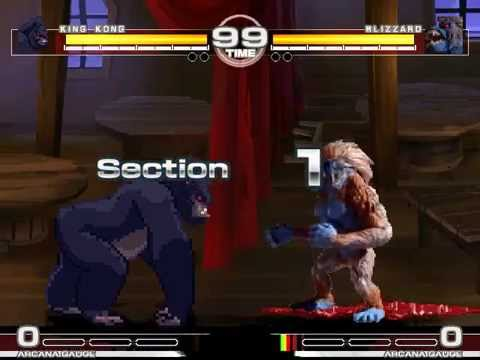 MUGEN : Apes Amazing King Kong vs Blizzard