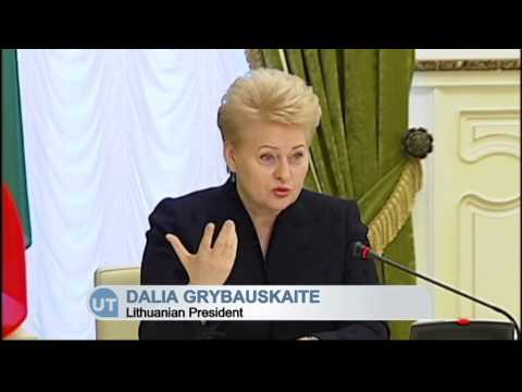 Lithuania Backs Ukraine Reform Drive: Grybauskaite pledges support for Ukraine's EU ambitions