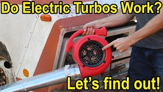 Do Electric Turbos Actually Work? Let's find out!