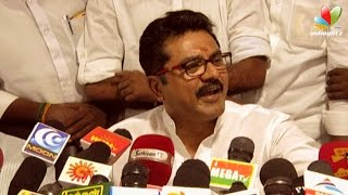 After Nadigar Sangam issue this time its a political downfall for Sarathkumar | Press Meet