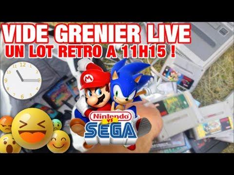 VIDE GRENIER LIVE - UN LOT RETRO A 11H15 !