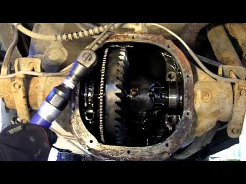 1998 Ford Ranger Rear Differential Disassembly
