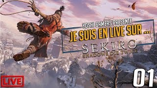 Je suis en live sur... Sekiro Shadows Die Twice  Partie 01 #Ps4share #Sekiro