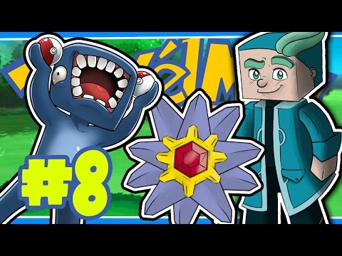 WATER GYM LEADER! [8] - PIXELMON W/Ash & Amy!