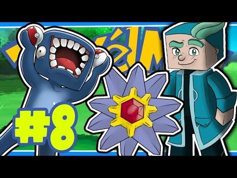 WATER GYM LEADER! [8] - PIXELMON W/Ash & Amy!