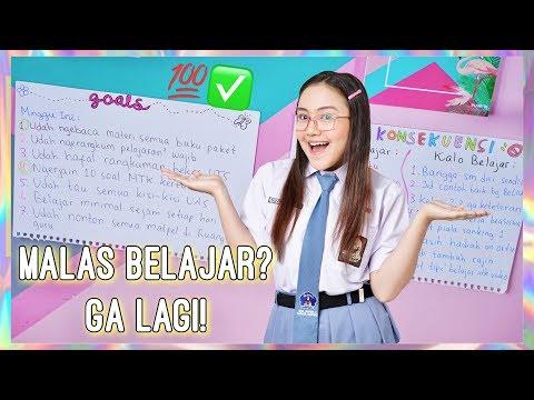 Cara STOP Rasa MALAS BELAJAR! (Tips Paling Ampuh) ~ Peachy Liv