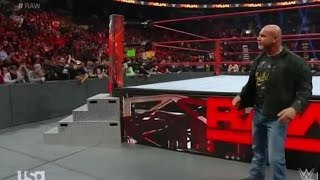 WWE Goldberg Save Stone Cold Steve Austin and attack Batista and Mark Henry HD