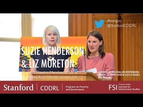 Liz Moreton, Battersea Arts Centre; Suzie Henderson, Contact Theater