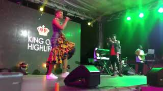 Romantic Performance By Adina & Kwami Eugene @ Rockstar Concert