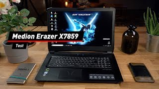 Aldi-Gaming-Notebook: Das Medion Erazer X7859 im Test!