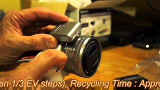 Sony NEX 5T White Unboxing and overview review