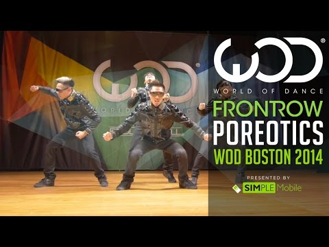 Poreotics | Frontrow By Simple Mobile | World Of Dance Boston 2014 #wodbos video