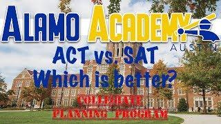 Alamo Academy Austin T.V. |#004|  SAT vs ACT for baseball players?