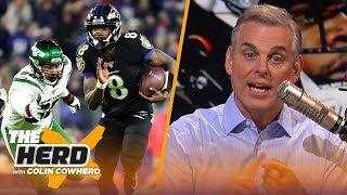 Lamar Jackson is 'overwhelming the game,' Cowboys shouldn't be 6-7 with this roster | NFL | THE HERD