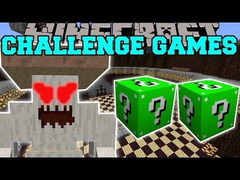 Minecraft: CRUSHROOM CHALLENGE GAMES - Lucky Block Mod - Modded Mini-Game