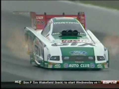 Ashley Force Hood Crash Video