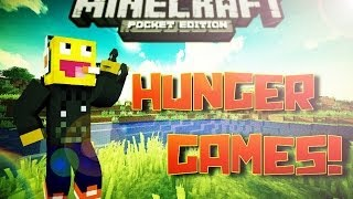 MCPE | Hunger Games Timelapse! Win/Loose?!?!