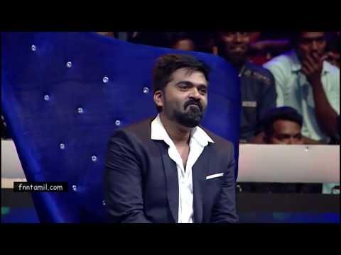 STR in Vijaytv Supersinger Manmadhan Nibuna Nibuna Song  Live
