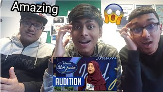 Suara Nashwa Bikin Kak Rizky Pingsan Audition 2 Indonesian Idol Junior 2018 Reaction