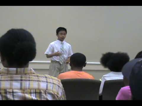 Self Perception Speech by Khang Tuong Nguyen