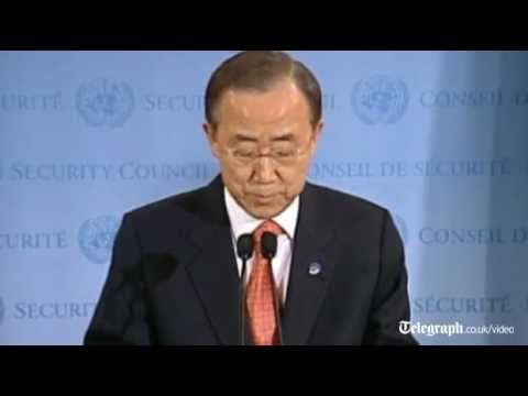UN General Secretary Ban Ki-moon on Arab League return to Syria