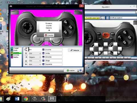 Descargar y configurar xpadder para joystick windows 8 y 7