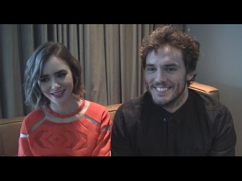 Lily Collins and Sam Claflin Talk 'Love, Rosie'